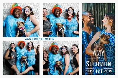 Amy Solomon Wedding photobooth