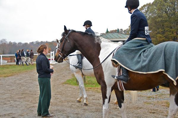 Ashley Rides in Sweet Briar Show November 2012