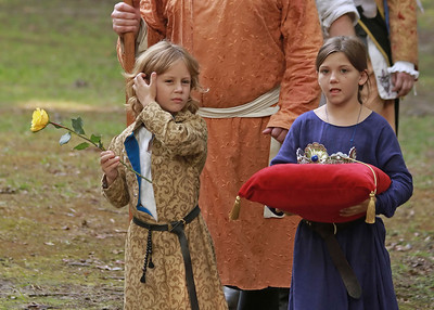 Coronation of Cuan and Padraigin