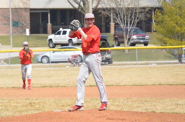 CHS Baseball vs Shelbyville DH Won Both No Hitter Jonah  March 21, 2015