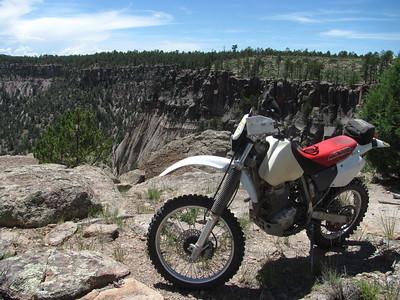 Jemez Mtns. - Virgin Mesa-Virgin Canyon Trailride  7-13-15