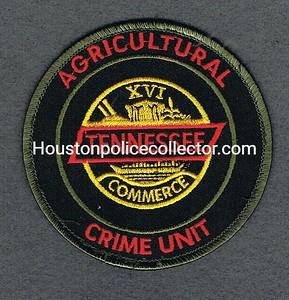 Tennessee Agriculture Crime