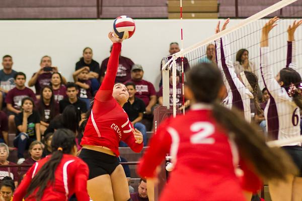October 4, 2016 - La Joya v Mission Volleyball _dy