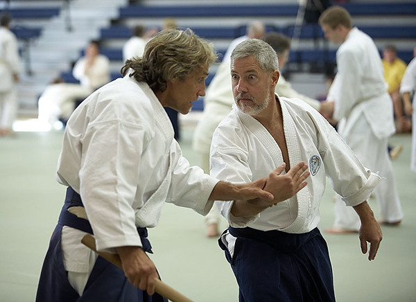 Friedl Sensei is probably demonstrating how not to do the technique here, but I kept it because of Jack's expression.