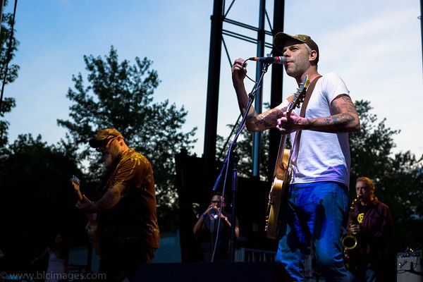 Lucero - Nelsonville Music Festival 2015