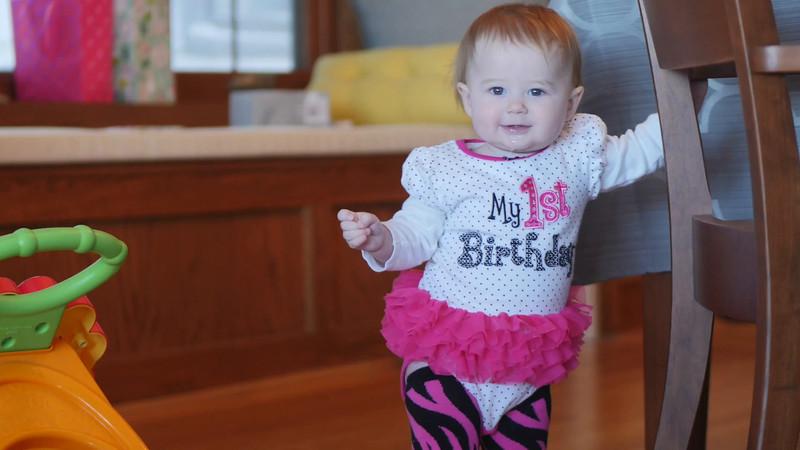 Gemma's First Birthday