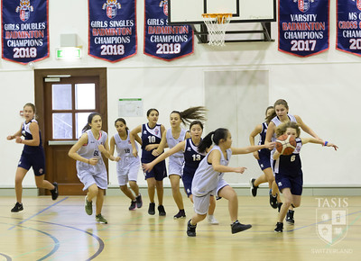 TASIS MS Basketball Takes on the American School of Milan
