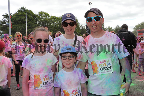 NEWRY 5K COLOUR RUN 2017