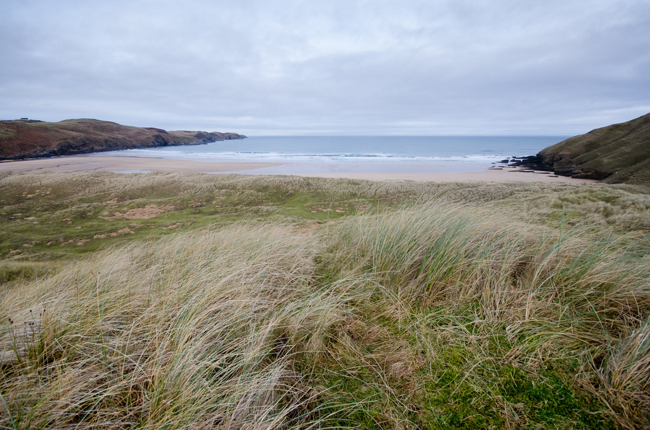 NC500 - Thurso to Durness - Strathy Beach