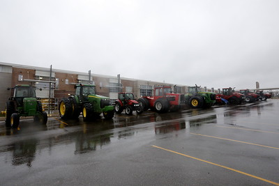 3/31/2016 - Fremont FFA 12th Annual Drive Your Tractor to School Day