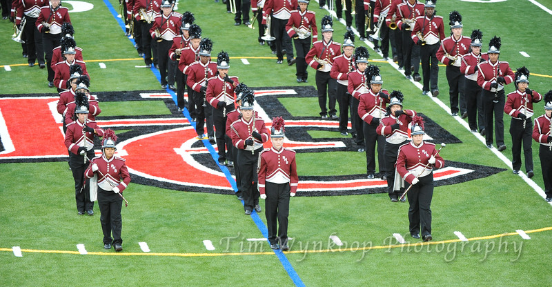 The Phillipsburg High School marching band performs before the start of the game. Hunterdon Central football hosts Phillipsburg, Sept. 14, 2018.