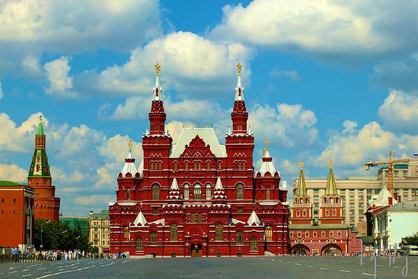 俄羅斯紅場-異國文化洗禮
