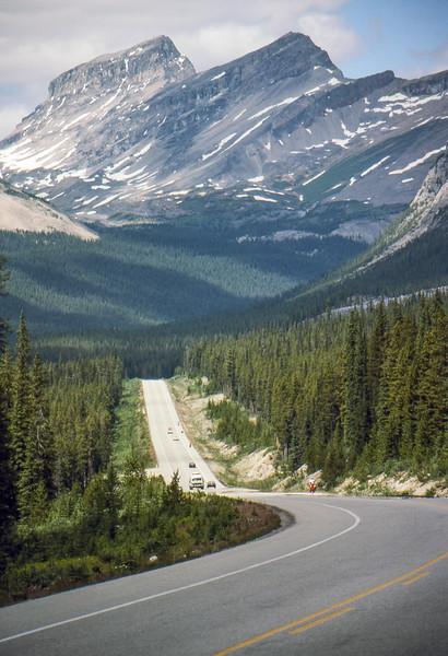 Somewhere Between Banff and Jasper - Alberta, Canada - Summer 1990