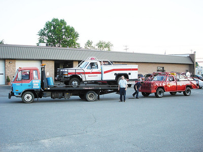 Brush Truck Breakdown  5-30-05