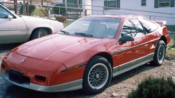 1986 Pontiac Fiero GT .  .  .