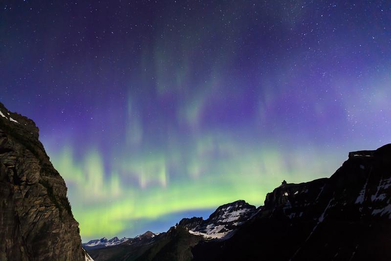 Continental Divide Aurora