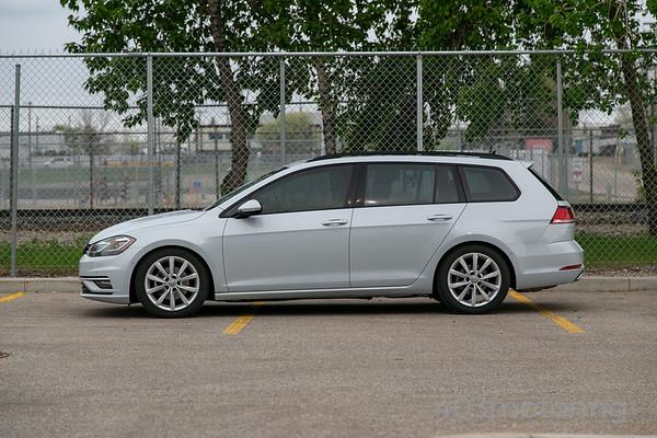'18 Golf SportWagen 4Motion - White Silver Met.