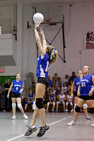 Girls JV Volleyball - 2011