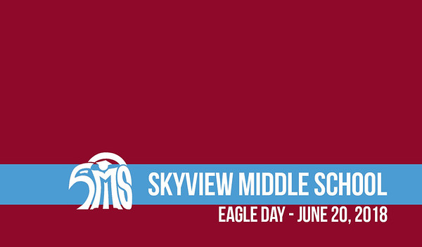 Skyview Middle School Eagle Day