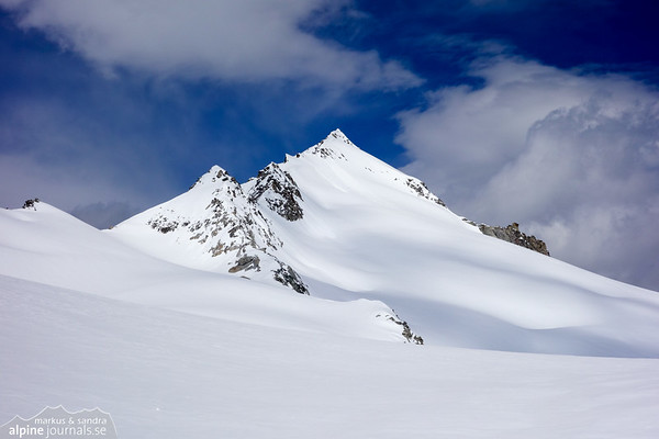 Schlieferspitze ski tour, Hohe Tauern 2013-05-15