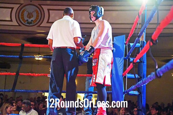 Bout #8:  Henry Annen (blue Gloves), Old Angle BC  vs  Zane Fry (Red Gloves), Independent , 178Lbs., sub-Novice