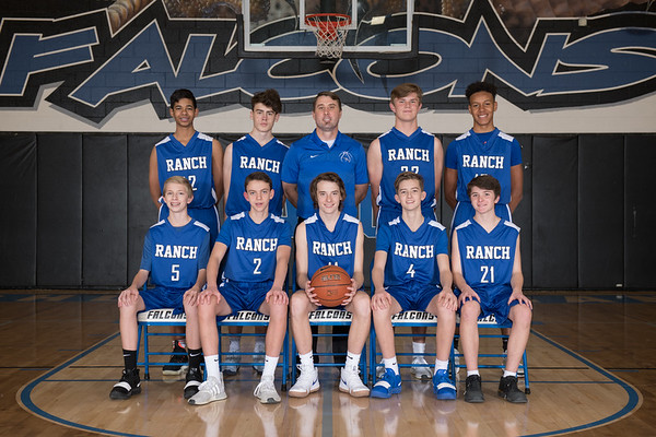 Falcons Boys Basketball 2018-2019