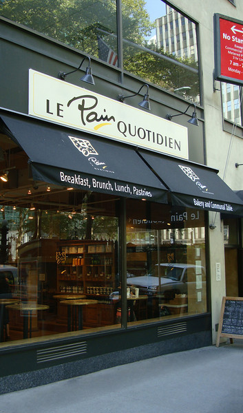 Le Pain Quotidien Restaurant_Sept. 6, 2009