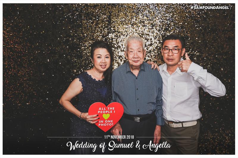 Wedding of Samuel & Angella | © www.SRSLYPhotobooth.sg