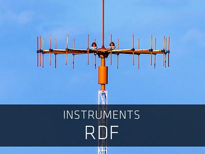Instruments – RDF (Radio Direction Finder)
