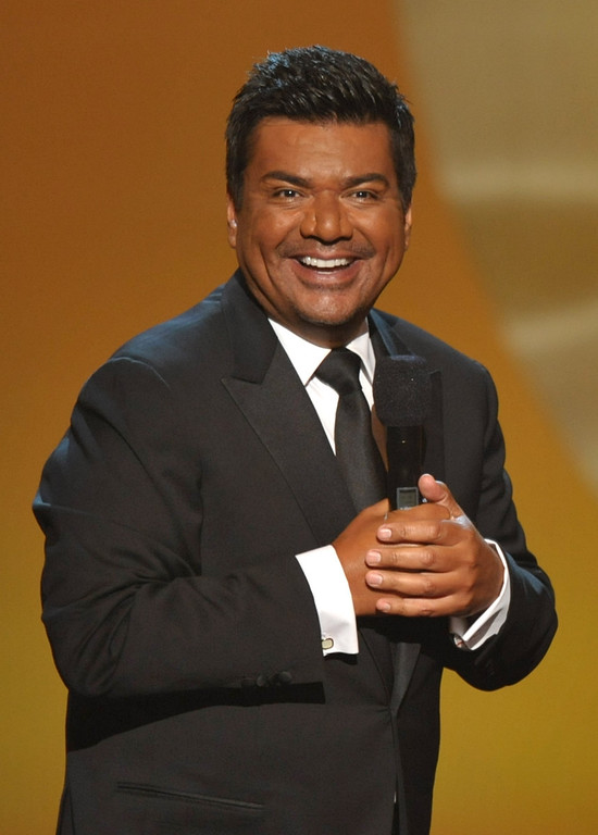 . August 31, 2013: George Lopez<br /> <br />Host George Lopez speaks onstage at the ALMA Awards on Sunday, Sept. 16, 2012, in Pasadena, Calif. (Photo by John Shearer/Invision/AP)