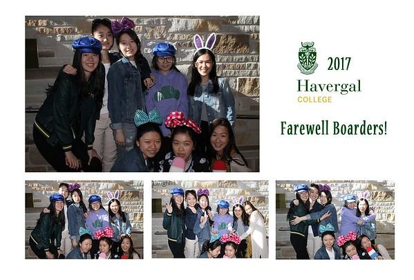 Havergal - Farewell Boarders 2017