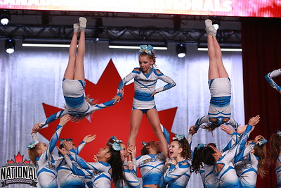 Beach Cheer Athletics  Jetstream - IASF Junior 3
