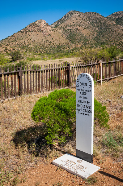 Cemetery at Fort Bowie National Historic Site