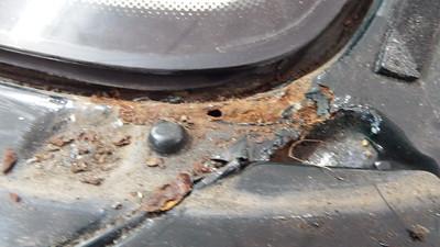 XJS Facelift scuttle repair - Minor signs / Correcting previous repair