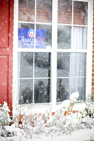 January: Inauguration Day Snow