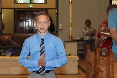 First Holy Communion May 3, 2015 8:00 a.m. Mass