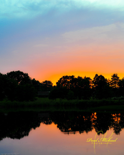 Lithuanian sunset.