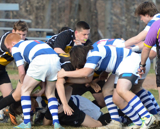 DHS Rugby vs Amity 4-9-14