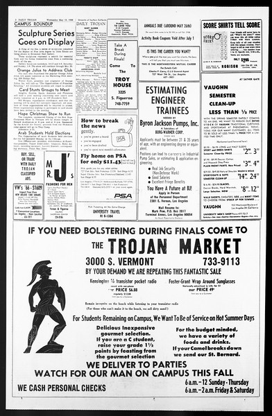 Daily Trojan, Vol. 57, No. 122, May 18, 1966