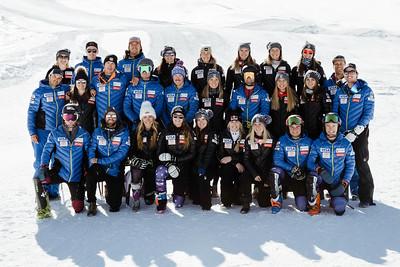 2018-19 U.S. Alpine Ski Team headshots & team photos