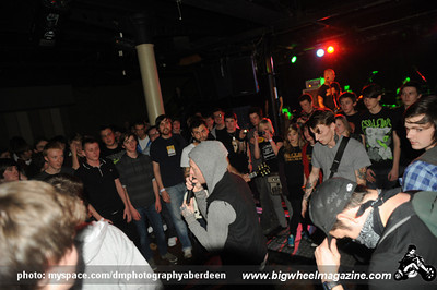 The Gallows - Trash Talk - at The Warehouse - Aberdeen, UK - November 29, 2009