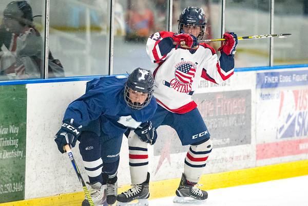 07/24/19 Wesley Bunnell   Staff The CT Capitals defeated Whitie Bensen Selects 4-2 in 14U Nutmeg Games hockey at the Newington Arena. Michael Rodriguez (63).