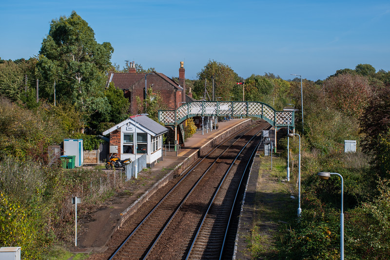 Acle Station & Signalbox