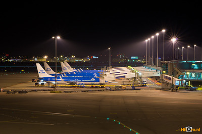 Schiphol By night