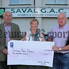 SAVAL VINTAGE CLUB PRESENT CHEQUE TO S.A.HOSPICE