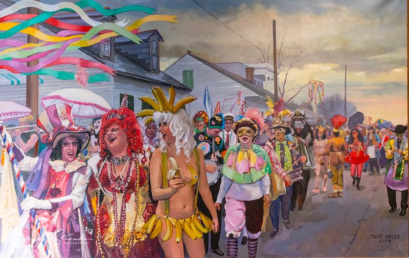 Mardi Gras Art