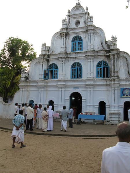 The ordinations took place at St. George's parish, not far from Dehon Bhavan, the SCJ minor seminary, South Kumbalanghy, Kerala.