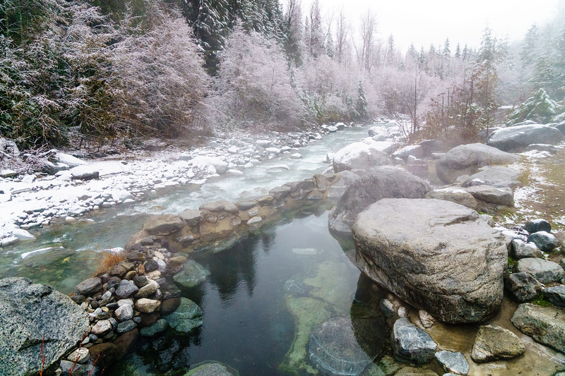 Meager Creek Hotsprings