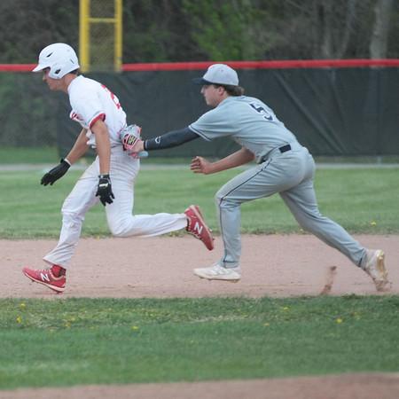 4/2021 Boys Varsity Baseball vs Grosse Pt South HS
