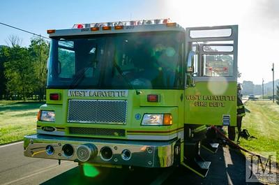 08-18-20 West Lafayette FD - Car Fire